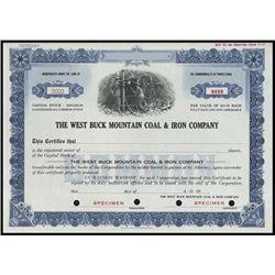 PA. VA. WV. Coal Mining Stock Certificate Assortm