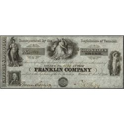 Vermont. Franklin Company.