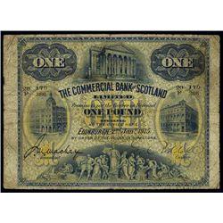 Scotland. The Commercial Bank of Scotland.