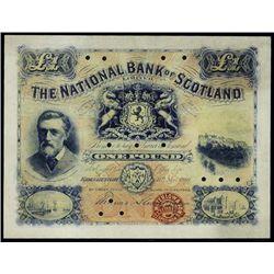 Nat.Bank Scotland Original & Official Copy Bankno