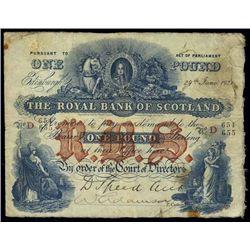 Scotland. The Royal Bank of Scotland.