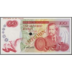 Republic of Seychelles Banknote Specimens.