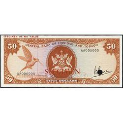 Trinidad & Tabago. Central Bank of Trinidad & Tab
