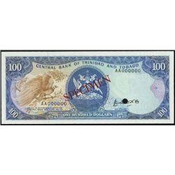 Central Bank of Trinidad & Tobago Banknote Specim