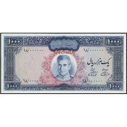 Bank Markazi Iran Trial Color P-94b Trial Color 1