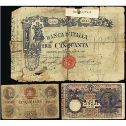 Italy. ABNC Italian Banknote Reference Collection