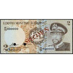 Lesotho. Lesotho Monetary Authority.