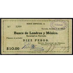Mexico. Banco Nac. De Mexico - Banco De Lond.Y Me