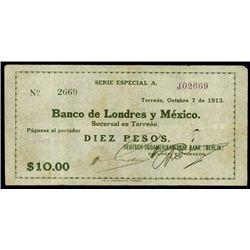 Mexico. Deutsch-Sud. Bank Berlin, B.De Lond.Y Mex