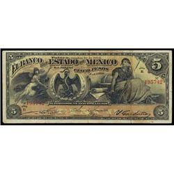 Mexico. El Banco Del Estado De Mexico.