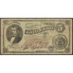 Nicaragua.  Counterfeit Banknote Assortment (5).