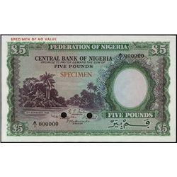 Nigeria. Federation of Nigeria - Central Bank of
