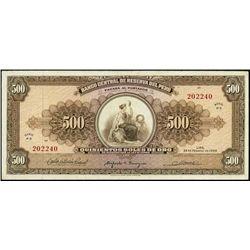 Banco Cent. De Reserva Del Peru Iss. Banknotes (2