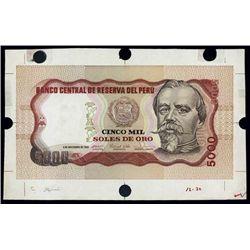 Banco Central De Reserva Del Peru Spec. Trial Col