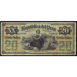 Peru. La Republica Del Peru (2) Issued Banknotes