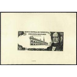 Venezuela. Banco Central De Venezuela Proofs