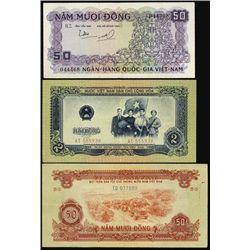 Vietnam. Vietnamese Banknote Assortment.
