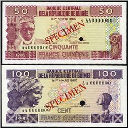 W.Africa. Banknote Assort. from Gambia, Guinee &