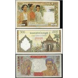 Worldwide Banknote Assortment.