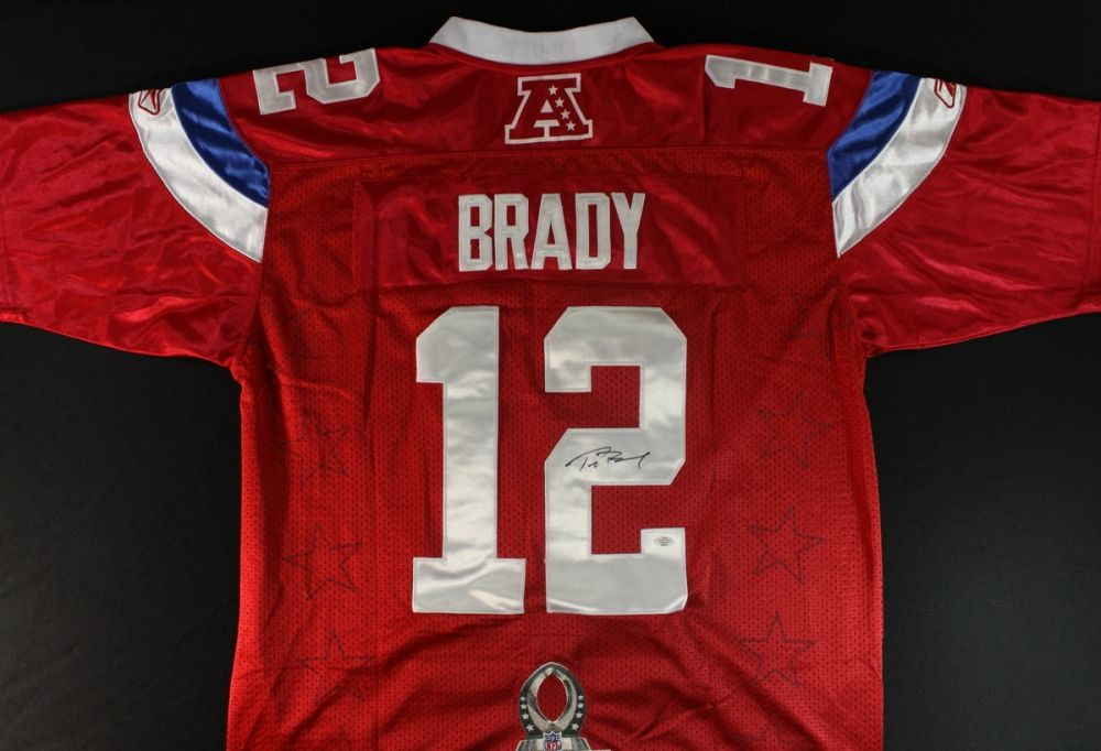 on sale afa84 e7e86 Tom Brady Signed 2011 Pro-Bowl Jersey (PAAS)
