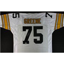 buy popular 31a4a 0d060 Joe Greene Signed Steelers Jersey: Inscribed
