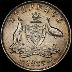 1939 Sixpence