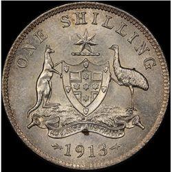 1913 Shilling