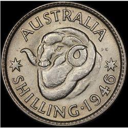 1946 Perth Shilling