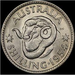 1954 Shilling