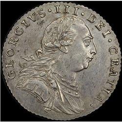 1787 George 111 Shilling