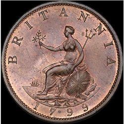 1799 George 111 ½ Penny