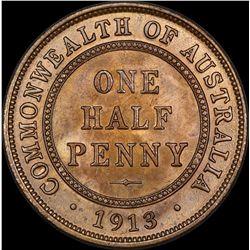 1913 Halfpenny