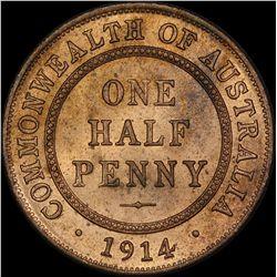 1914 Halfpenny