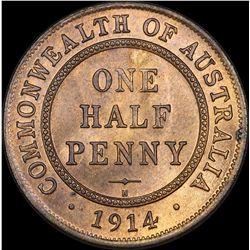 1914 H Halfpenny