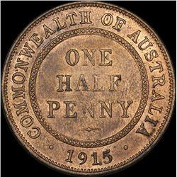 1915 H Halfpenny