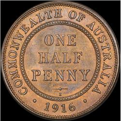 1916 Halfpenny