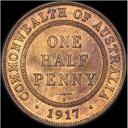 1917 Halfpenny