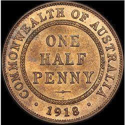 1918 Halfpenny