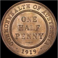 1919 Halfpenny
