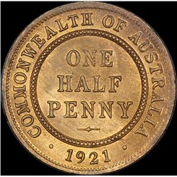 1921 Halfpenny