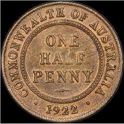 1922 Halfpenny