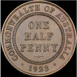 1923 Halfpenny