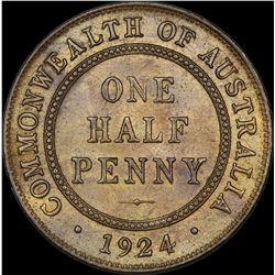 1924 Halfpenny
