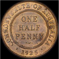 1925 Halfpenny