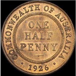 1926 Halfpenny