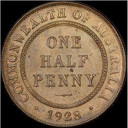 1928 Halfpenny