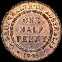 1929 Halfpenny