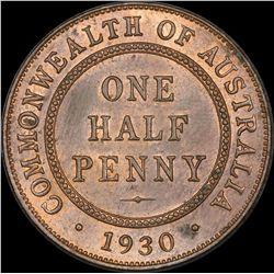 1930 Halfpenny