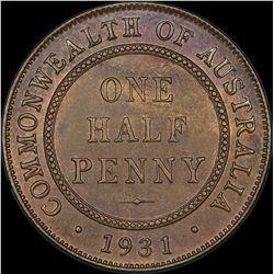 1931 Halfpenny