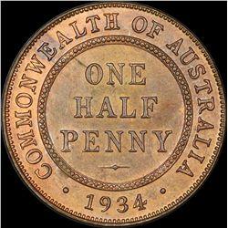 1934 Halfpenny